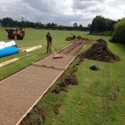 Athletics Track Installation in Abertillery/Abertyleri 6