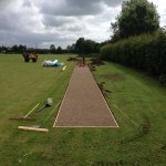 Athletics Track Installation in Dungannon 11