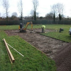 Athletics Track Installation in North Ayrshire 2