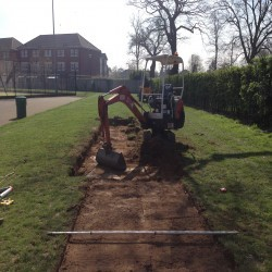 Athletics Track Installation in Abercregan 10