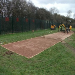 Long Jump Surfacing Installers in Chute Standen 2