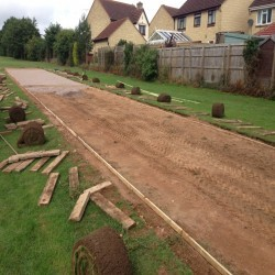 Athletics Track Installation in The Vale of Glamorgan 1