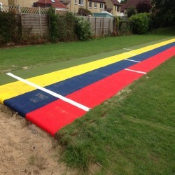 Athletics Track Installation in The Vale of Glamorgan 10