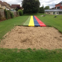 Long Jump Surfacing Installers in Appley 4