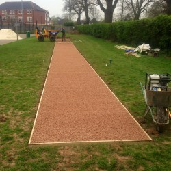 Athletics Track Installation in Lancashire 2