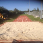 Long Jump Surfacing Installers in Gwaenysgor 11