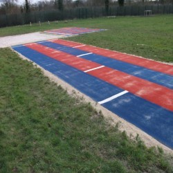 Athletics Track Installation in Dungannon 10