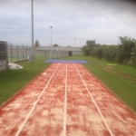 Athletics Track Installation in Abertillery/Abertyleri 4