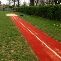 Athletics Track Installation in The Vale of Glamorgan 9