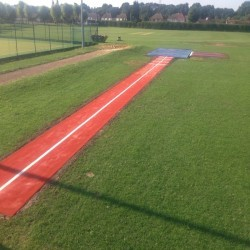 Long Jump Surfacing Installers in Appley 3