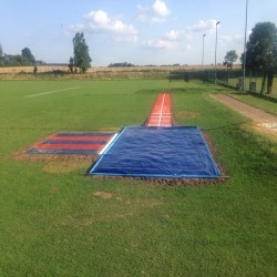 Athletics Track Installation in The Vale of Glamorgan 4