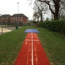 Athletics Track Installation in The Vale of Glamorgan 3
