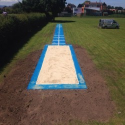 Athletics Track Installation in Abertillery/Abertyleri 8