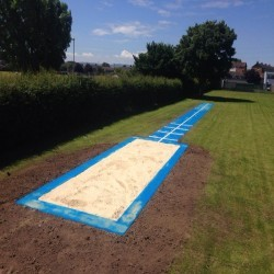 Long Jump Surfacing Installers in Gwaenysgor 1