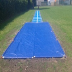 Athletics Track Installation in The Vale of Glamorgan 2