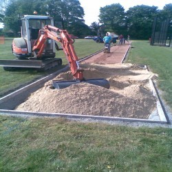 Long Jump Surfacing Installers in Varchoel 5