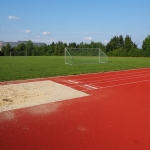 Athletics Track Installation in Abertillery/Abertyleri 3