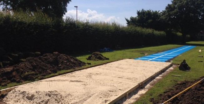 Sand Pit Installation in Oxfordshire