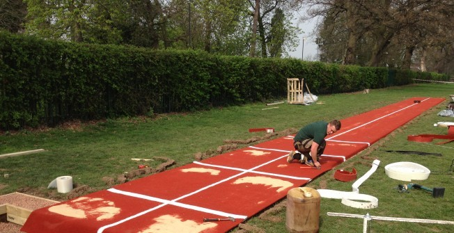 Long Jump Surface Builders