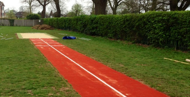 Long Jump Designs in Chute Standen