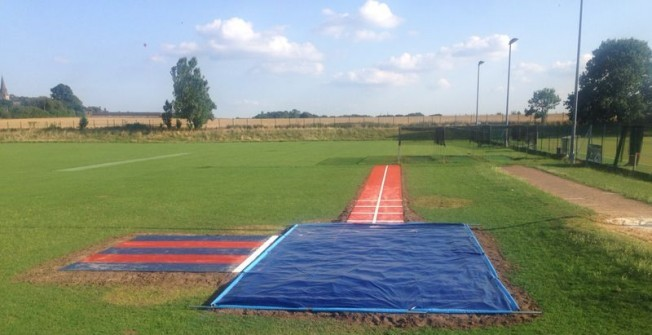 Long Jump Runway in Northamptonshire
