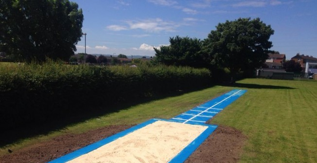 Long Jump Area in Elderslie
