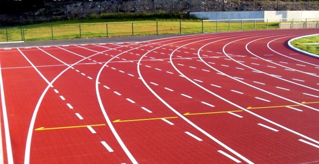 Athletics Track Construction in The Vale of Glamorgan