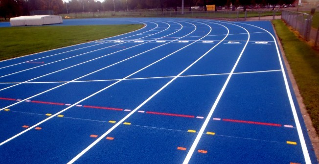 Sports Track Installers in Abertillery/Abertyleri